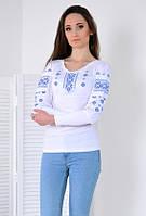 Белая вышивка с изысканной грацией