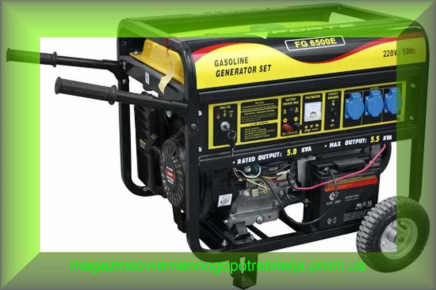 Электрогенератор бензиновый Forte FG6500E