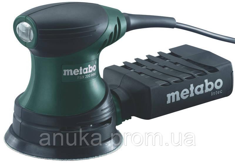 Metabo FSX 200 Intec Шлифмашина эксцентриковая (50945) - Экшен Стайл и Анука™ в Днепре