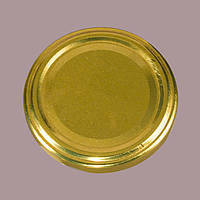 Крышка закаточная твист 66 мм золото, фото 1