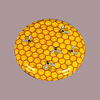 Крышка с пчелами твист 82 мм
