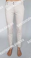Женские стильные брюки из стрейч-коттона