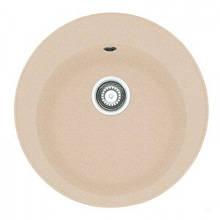 Кухонна мийка гранітна кругла 51*51 см ADAMANT SUN Цукру 8692