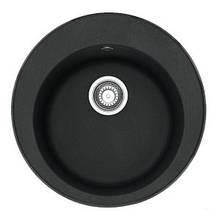 Кухонна мийка кругла 51 см ADAMANT SUN Чорний 8693