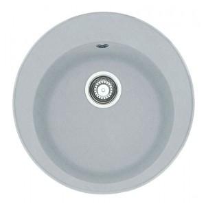 Мойка круглая на кухню ГРАНИТ 51*51 см ADAMANT SUN Серый 8694