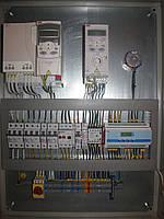Автоматика приточно-вытяжных систем вентиляции с водяным нагревателем и пластинчатым рекуператором