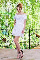 Д994 Платье летнее прошва , фото 2