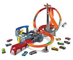 Hot Wheels Spin Storm Головокружительные виражи