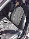 Авточехлы экокожа+алькантара для Audi А-6 (С6) 2004-2011 г., фото 3