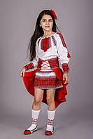 Нарядный детский вышитый костюм для девочки