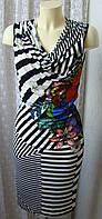 Платье модное яркое миди Desigual р.42 6796
