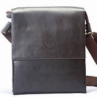 Мужская сумка Giorgio Armani  коричневая