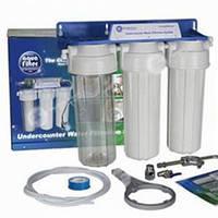 Трехступенчатая система очистки воды под мойку Aquafilter FP3 К1