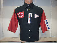 Мужская рубашка с коротким рукавом W.S