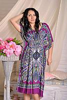 Легкое платье из штапеля 098