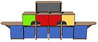 """Стенка игровая 01 """"Корабль"""". Мебель для школы. Мебель для детского сада"""