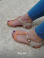 Босоножки на низком ходу сандали , фото 1