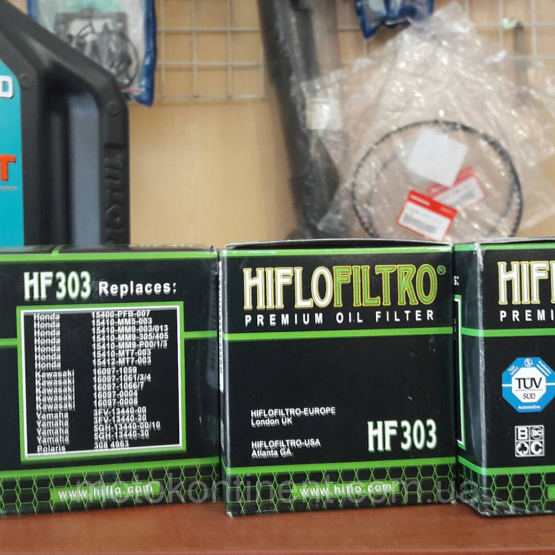 HF303 HIFLO FILTRO фільтр масляний HF303, аналог MEIWA MH1013/ COF203