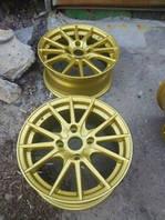 Порошковая покраска дисков Золото Киев