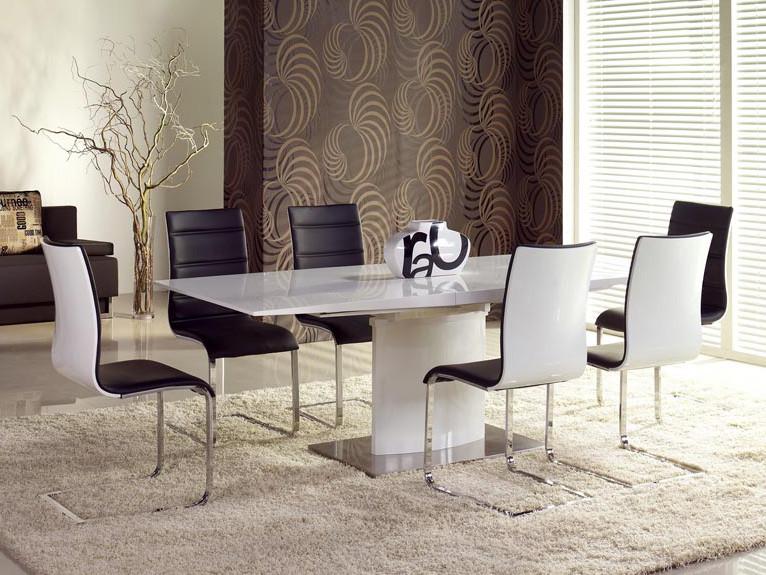 Стол обеденный деревянный MARCELLO белый Halmar