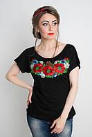 Оригинальная женская вышитая футболка