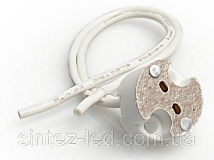 Патрон G-5.3 керамический 12-230V/50Hz 2A HL550 Код.56801, фото 2