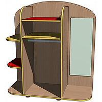 """Стенка игровая 05 """"Гардероб"""" (без зеркала). Мебель для школы. Мебель для детского сада"""