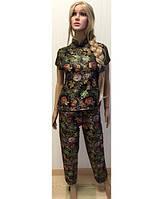 Костюм пижама KR-1817 №017 (черный)