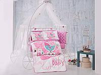 """Комплект постельного белья для новорожденных  Aran Clasy """"Lovely Baby"""""""