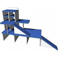 """Стенка игровая 06 """"Паркинг"""". Мебель для школы. Мебель для детского сада"""