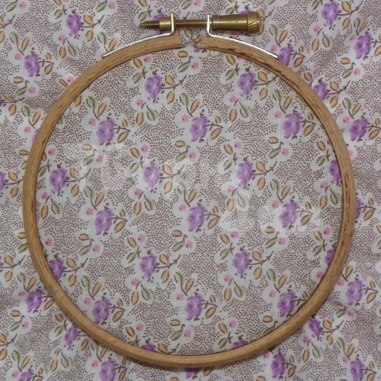 Ткань для пэчворка, кукл тильда в фиолетовый цветочек