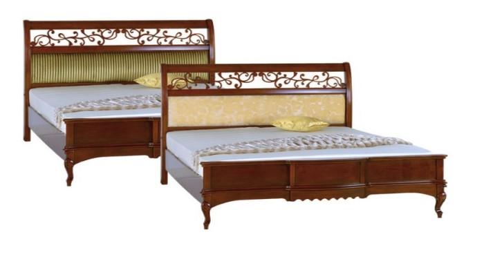 Ліжко 1800 прямокутний з к. (тканина)