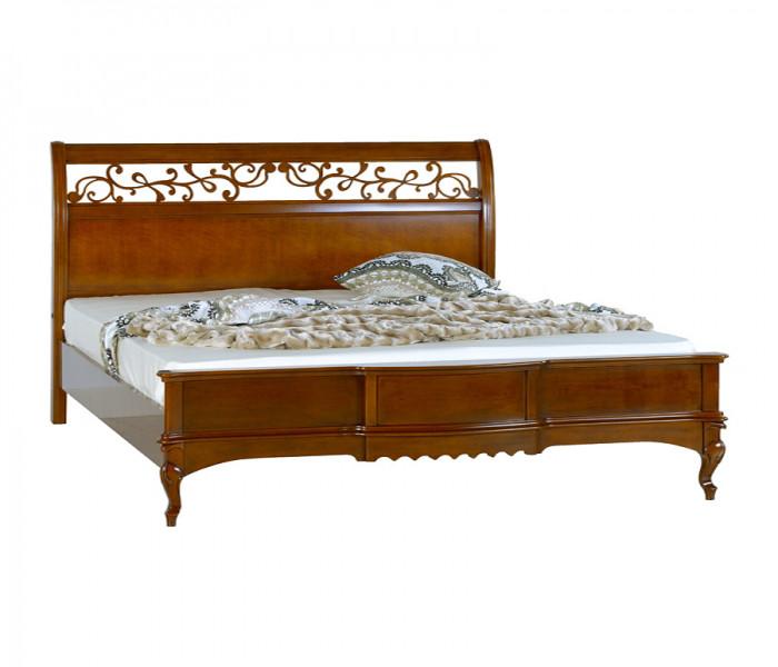 Кровать 1800 прямоугол. дерев. изгол.