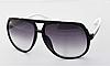 Солнцезащитные очки в стиле Gucci (1622) черная оправа
