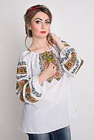 Молодежная блуза с вышивкой
