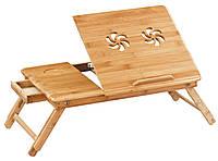 Столик-подставка для ноутбука бамбук