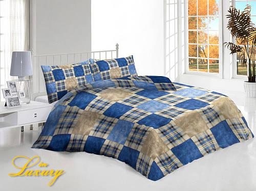 """Комплект постельного белья """"Шотландка"""" евро"""