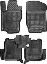 Полиуретановые коврики в салон Mercedes GL (X164) 2006-2012 (AVTO-GUMM)