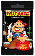 Драже кокоосовые  Корсар ,60 гр