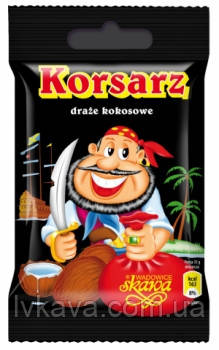 Драже кокоосовые  Корсар ,60 гр, фото 2