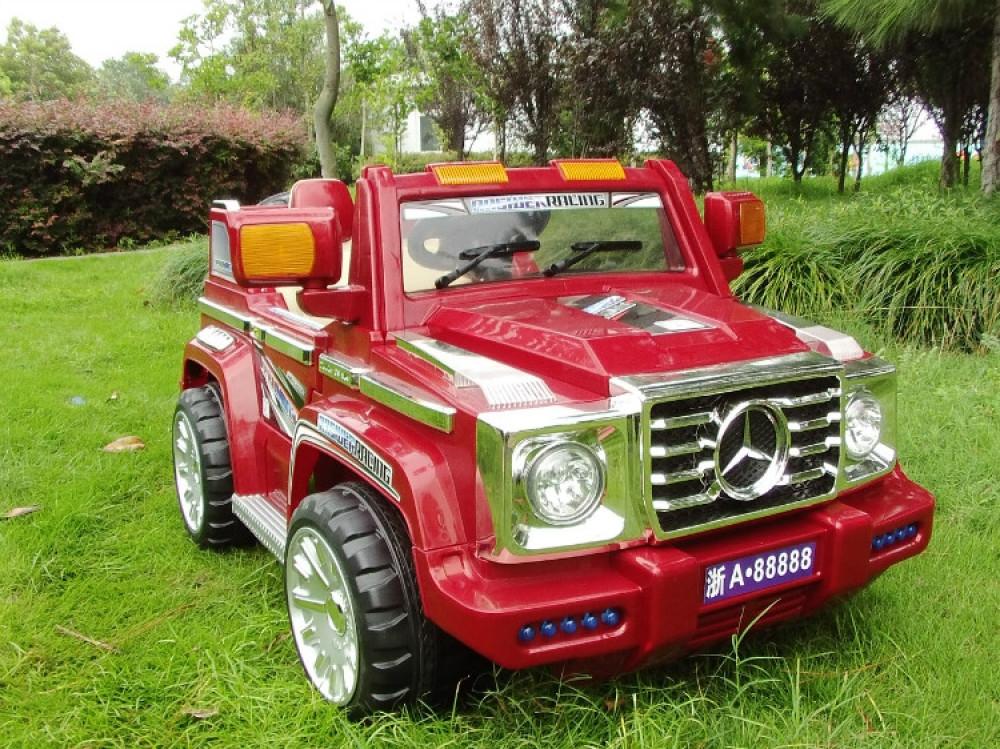 Детский электромобиль Мерседес Кубик BB 905 Красный