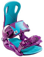 Крепления для сноуборда Volkl Straptec Initial purple - S