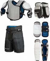 Набор защиты для хоккея детский Nordway JR Hockey set серебряный  M