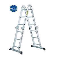 Лестница шарнирная Werk LC2412 (4х3)