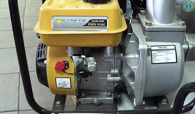 Бензиновая мотопомпа Forte FP30C