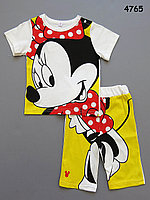 Летний костюм Minnie Mouse для девочки. 80 см