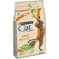 Корм для кошек Purina Cat Chow Adult, курица и индейка, 400г
