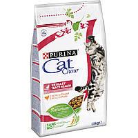 Корм Purina Cat Chow UTH для здоровья мочевыводящей системы кошек, 1,5кг