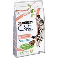 Корм Purina Cat Chow Sensitive для кошек с чувствительным пищеварением, 15кг