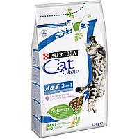 Корм для кошек Purina Cat Chow 3 in 1 Тройная защита, 400г